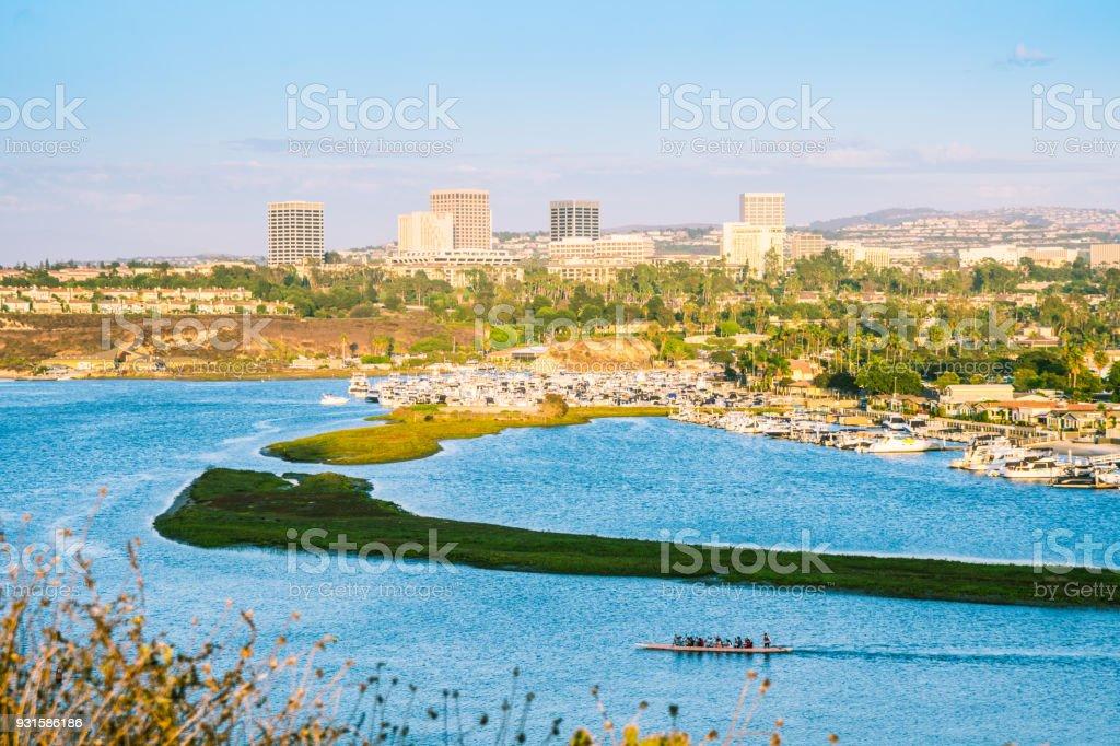 Orange County Skyline stock photo