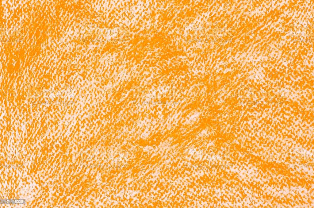 orange crayon drawings background texture stock photo