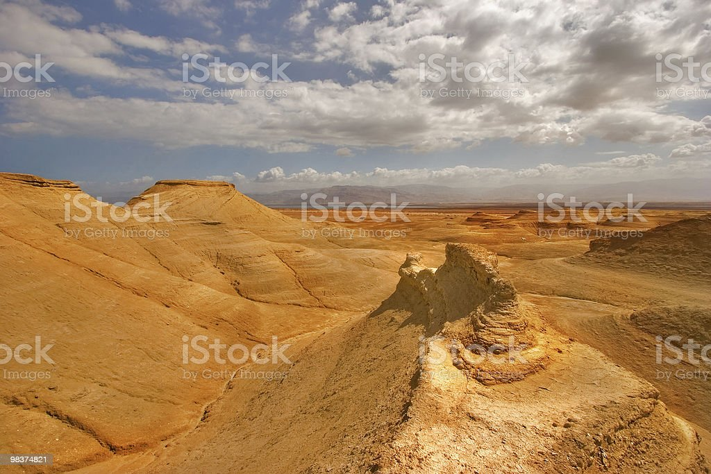 Orange desert. royalty-free stock photo