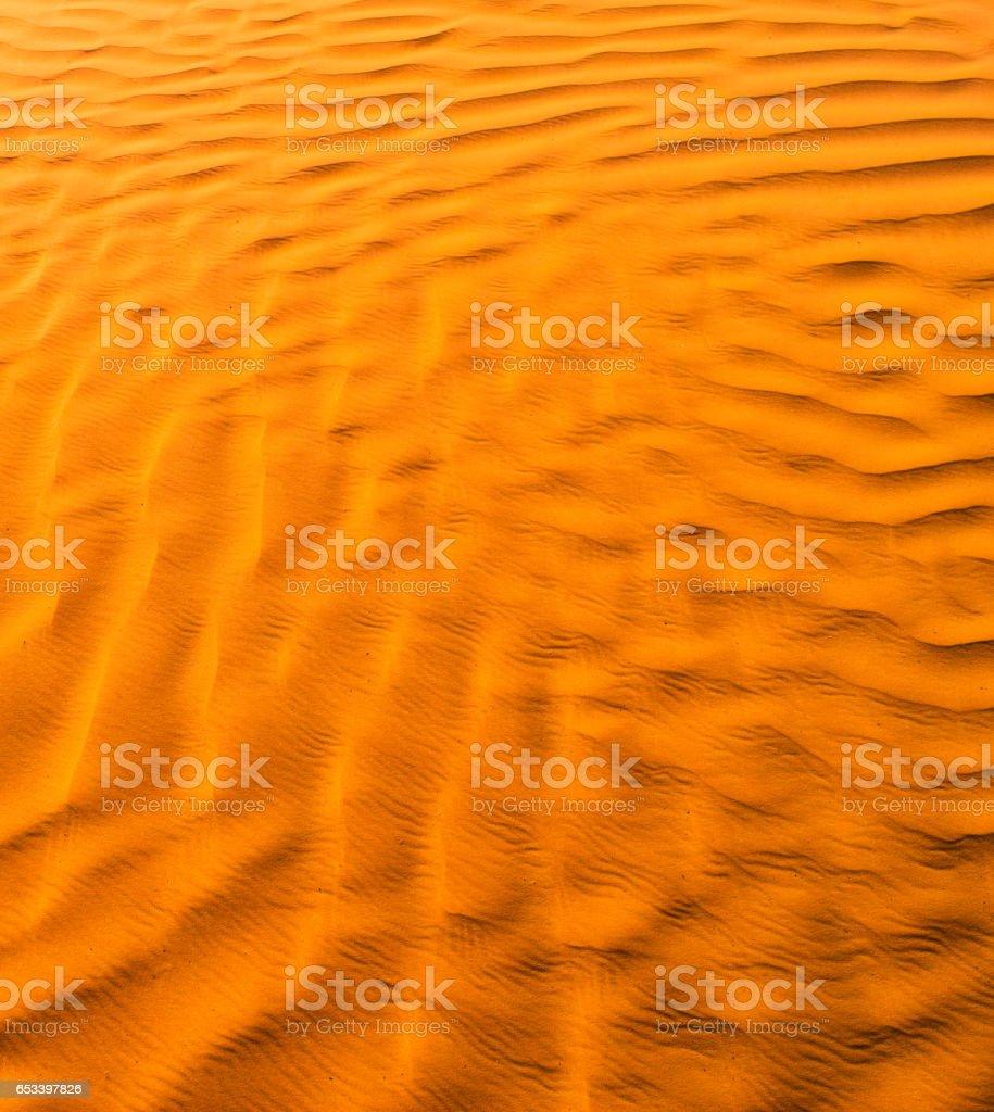 Orange Desert Texture, Wallpaper and Background stock photo