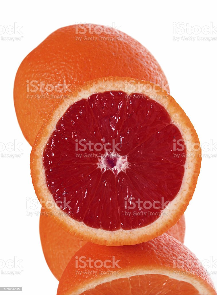 Orange detail royalty-free stock photo