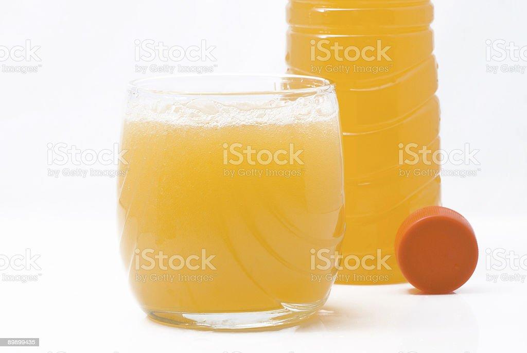 Orange drink royalty free stockfoto