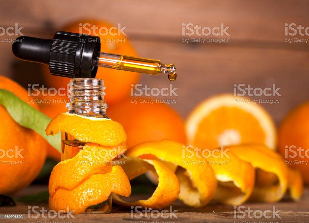 Orange Essential Oil - foto de stock