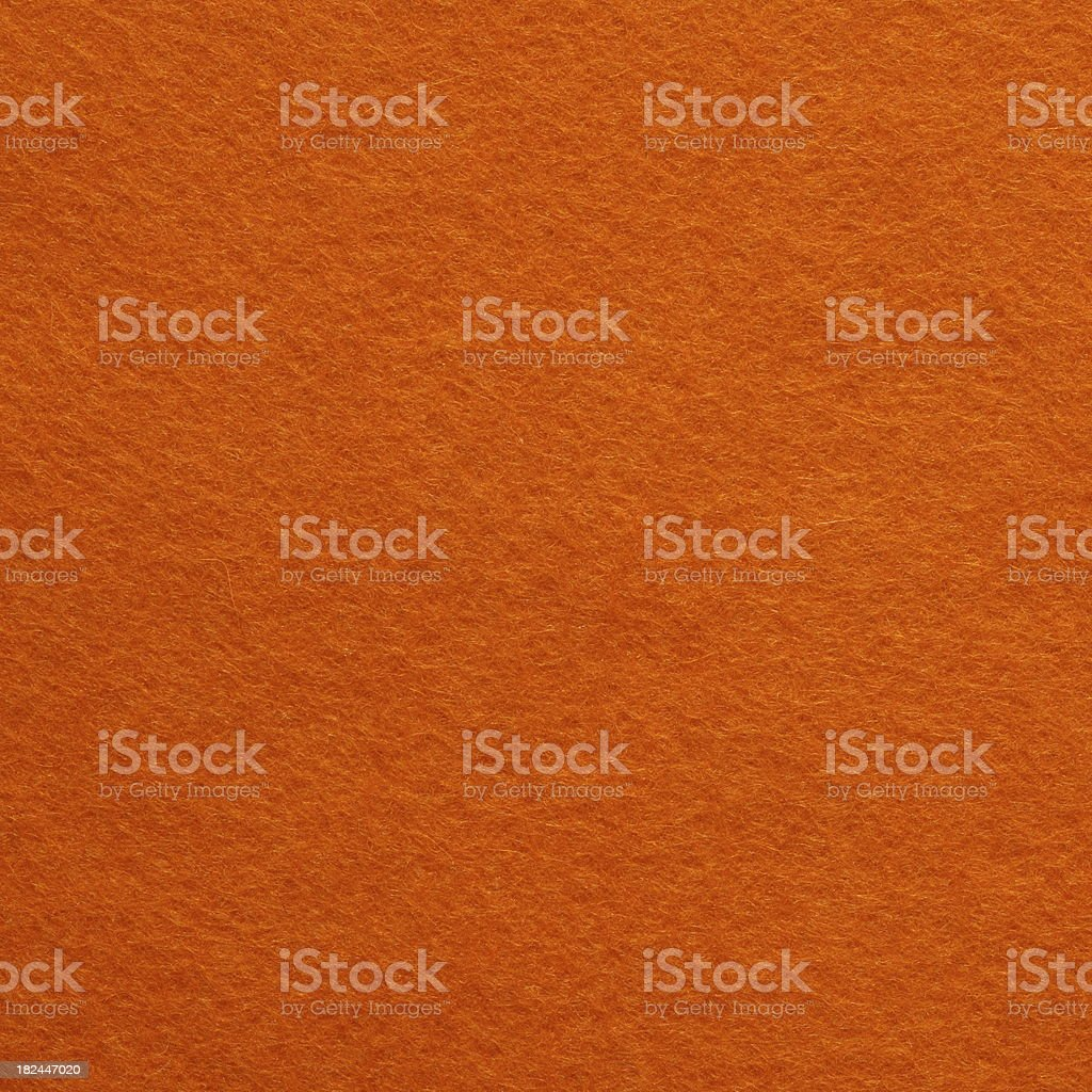 Orange Felt Background royalty-free stock photo