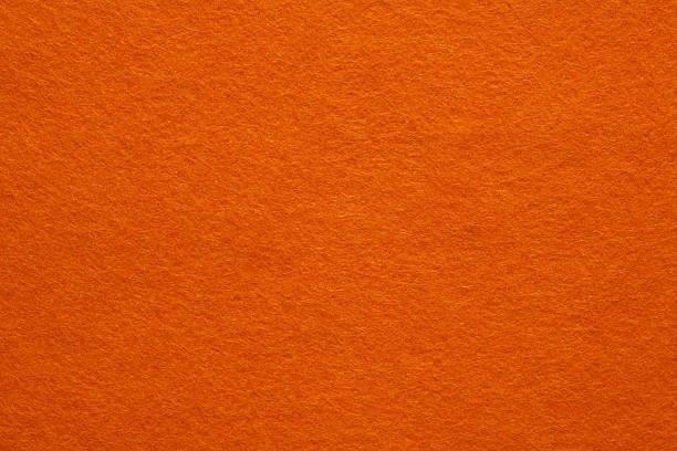 orange felt background - felt textile stock pictures, royalty-free photos & images