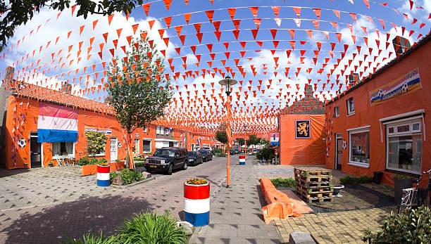 Orange-Fieber in den Niederlanden – Foto