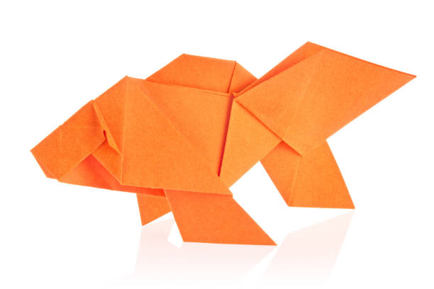 Royalty Free Origami Fish Pictures Images And Stock Photos Istock