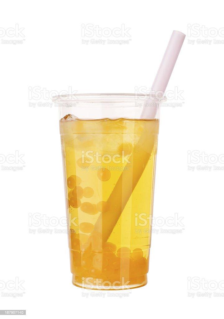 Arancione bolle di tè aromatici - foto stock
