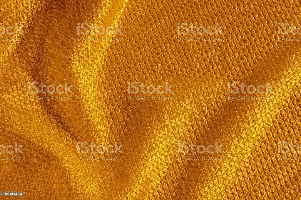 orange football Jersey royalty-free stock photo