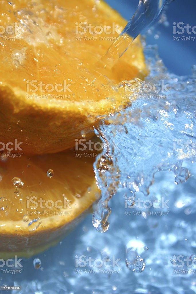 Orange Fresh royalty-free stock photo