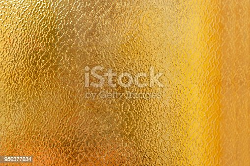 Orange frosted glass texture background