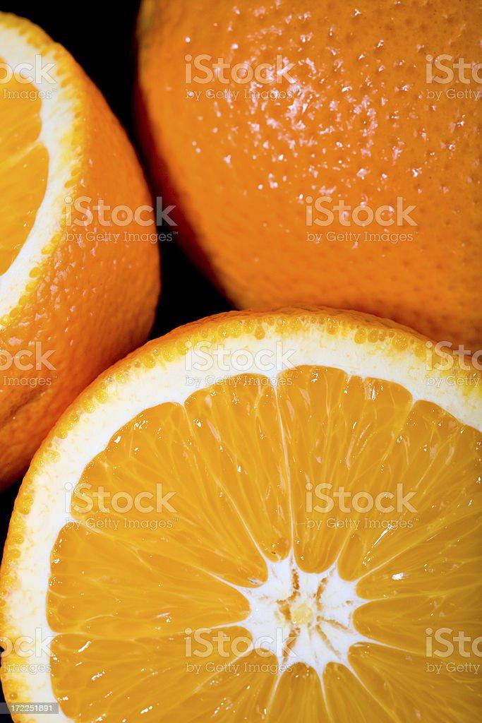 Orange fruit details royalty-free stock photo