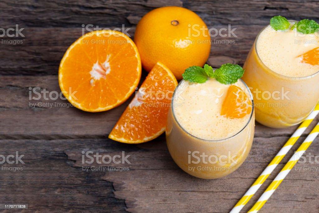Licuado de naranja para bajar de peso