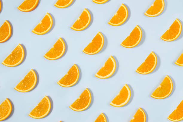 Orange fruit pattern on blue background picture id970201640?b=1&k=6&m=970201640&s=612x612&w=0&h=xwq8op3a6yeufptfyrdsmz w0z4qfp27hqta xyq31q=
