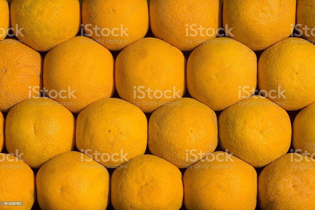 Orange fruit pattern royalty-free stock photo