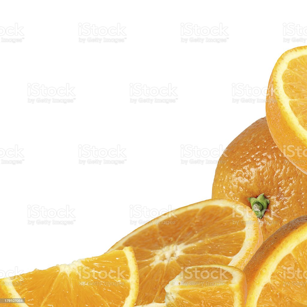orange fruit royalty-free stock photo