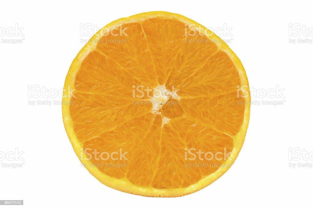 Orange fruit slice royalty-free stock photo