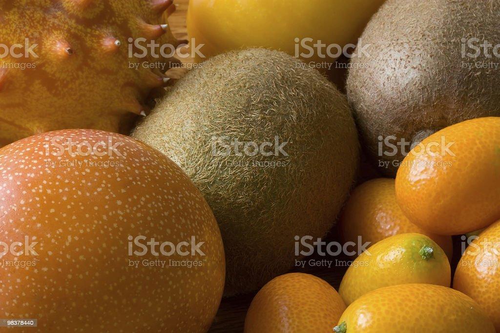 Orange fruits compostion royalty-free stock photo