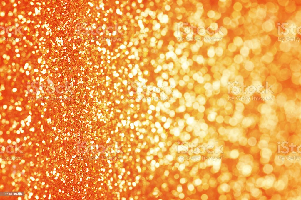 Orange Glitter Background Stock Photo & More Pictures of ...