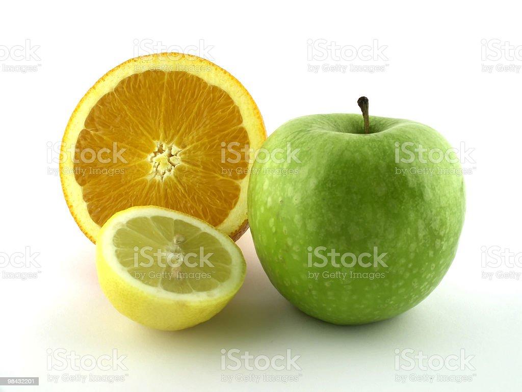 orange, green, yellow royalty-free stock photo