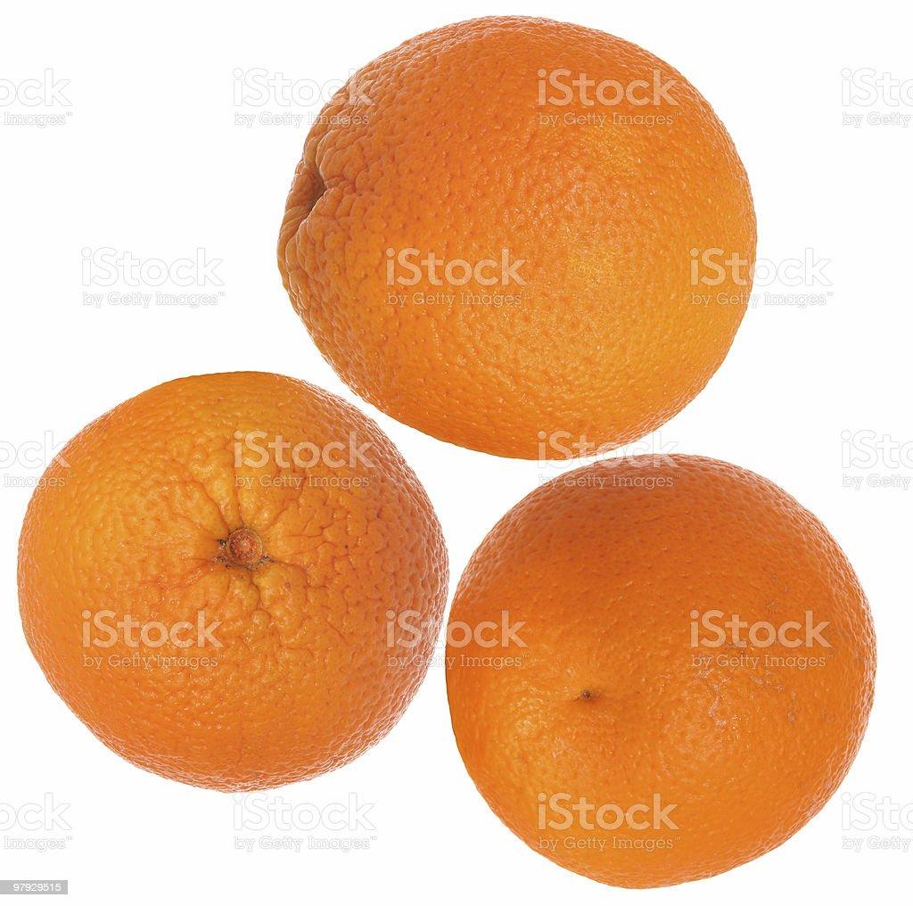 Orange group royalty-free stock photo