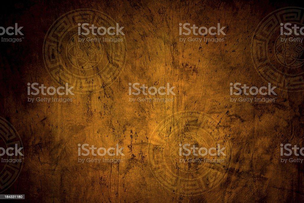 Orange Grunge Background royalty-free stock photo