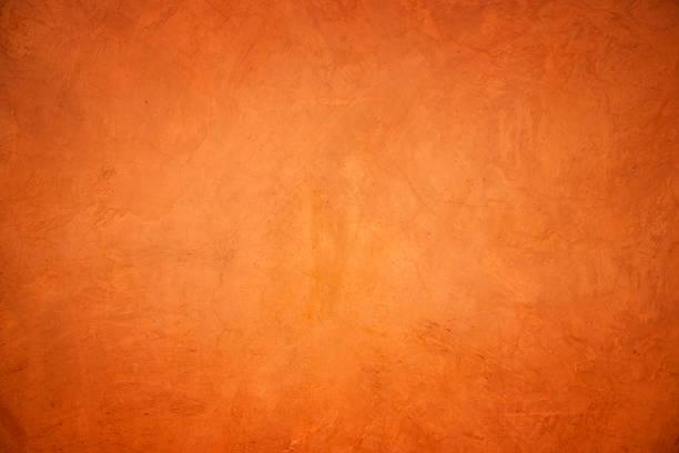Orange grunge Mur en béton texture et l'arrière-plan. - Photo