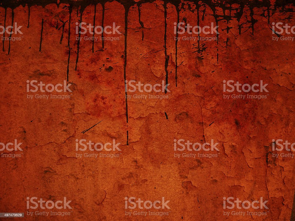 orange grunge wall background royalty-free stock photo
