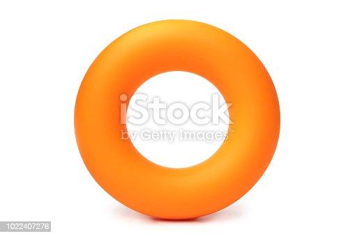 istock Orange hand ring expander 1022407276