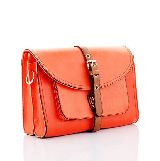 orange Handtasche – Foto