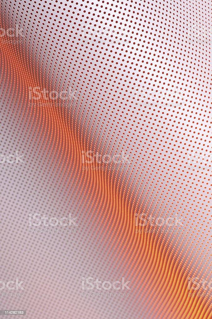 Orange Holes... royalty-free stock photo