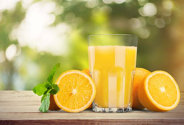 Orange Juice, Juice, Orange stock photo