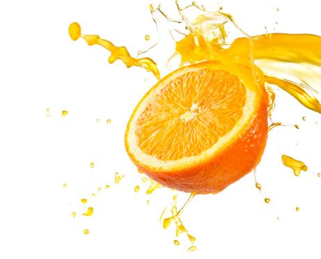 Orange juice splash - Please see my portfolio for other food related images.