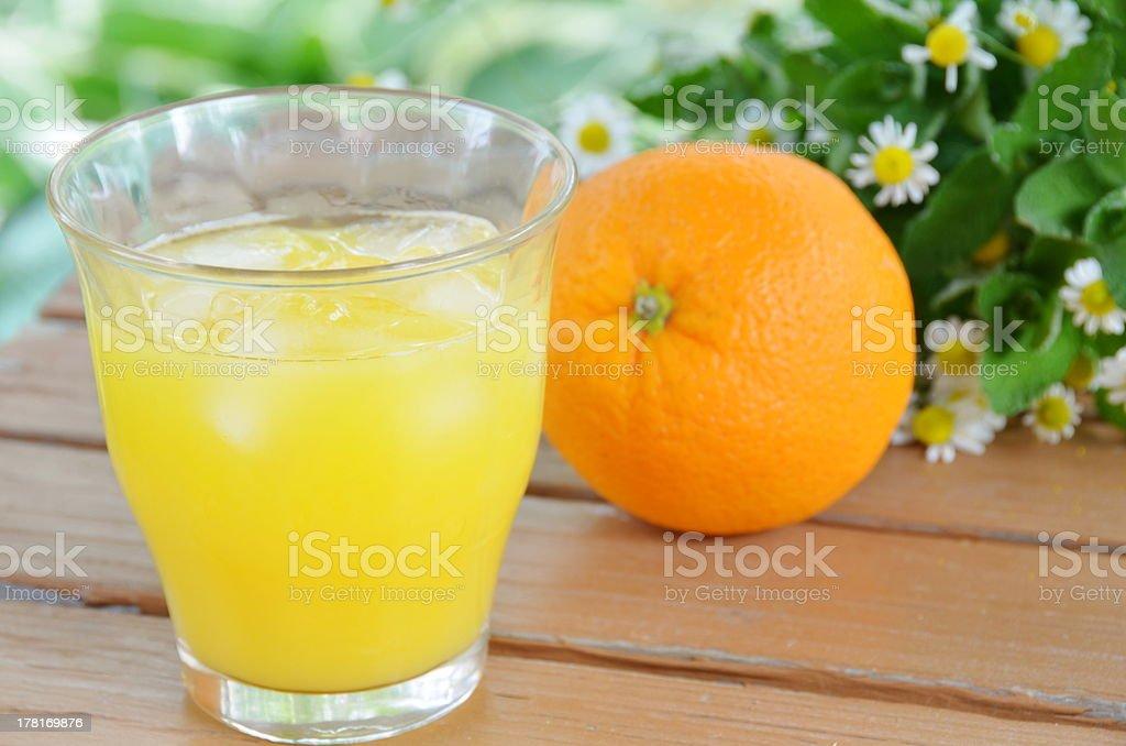 orange juice royalty-free stock photo