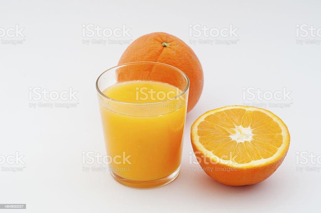 Jugo de naranja foto de stock libre de derechos