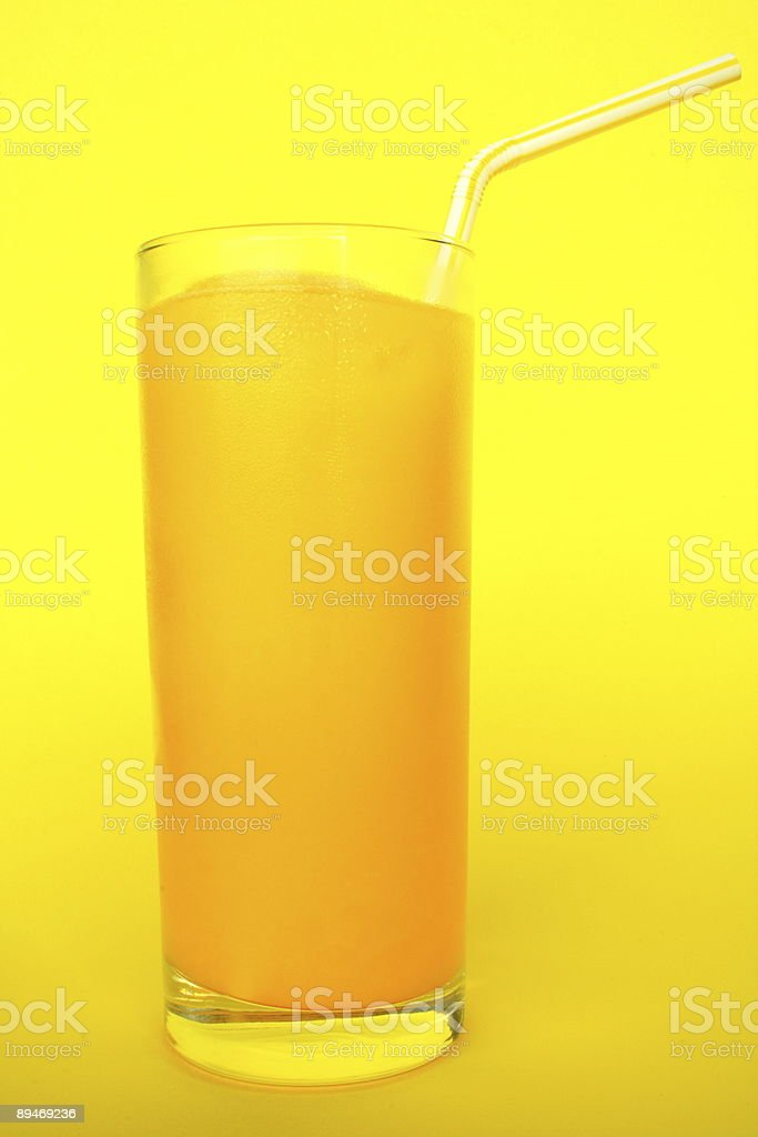Orange Orangensaft Lizenzfreies stock-foto