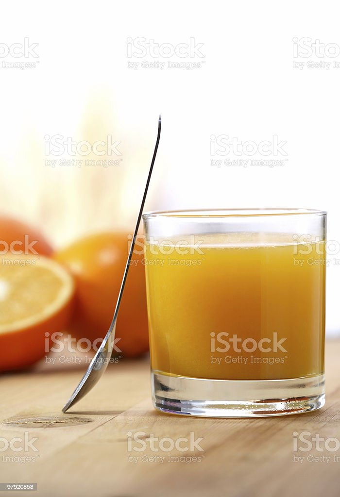 Orange juice royalty-free stock photo