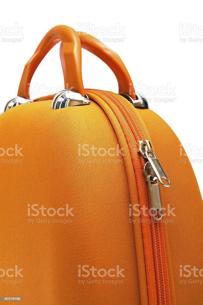 orange large bag royalty-free stock photo