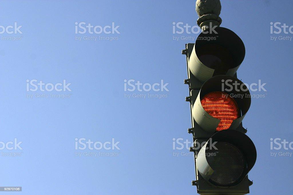 Orange light royalty-free stock photo