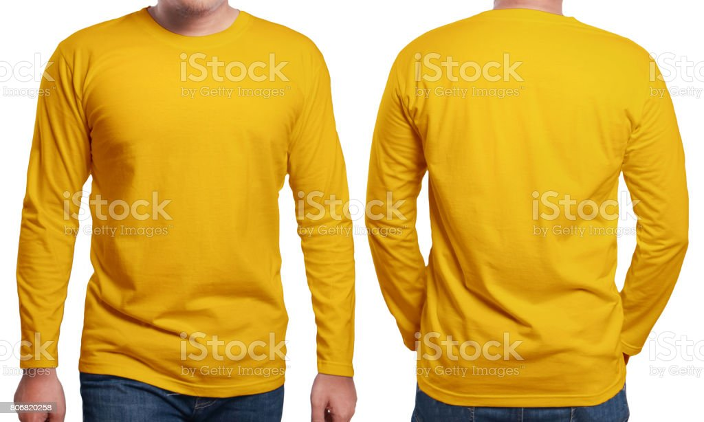 Long Sleeve Template | Royalty Free Long Sleeve T Shirt Template Pictures Images And Stock