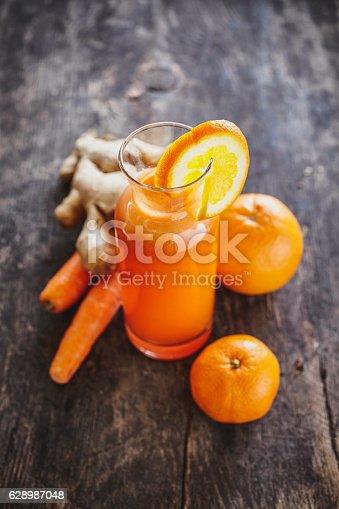 Orange, Mandarin and Carrot Juice