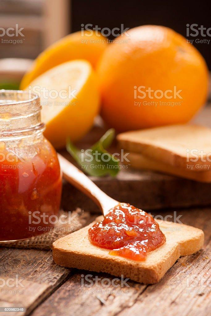 Marmelada de laranja  foto royalty-free