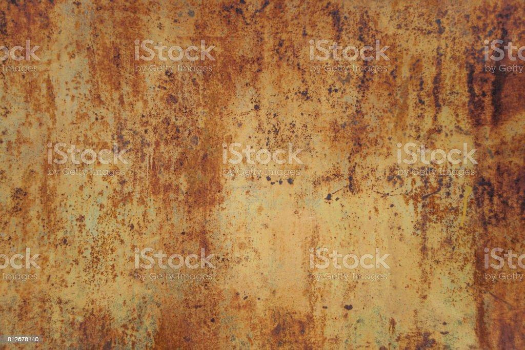Orange metal background stock photo