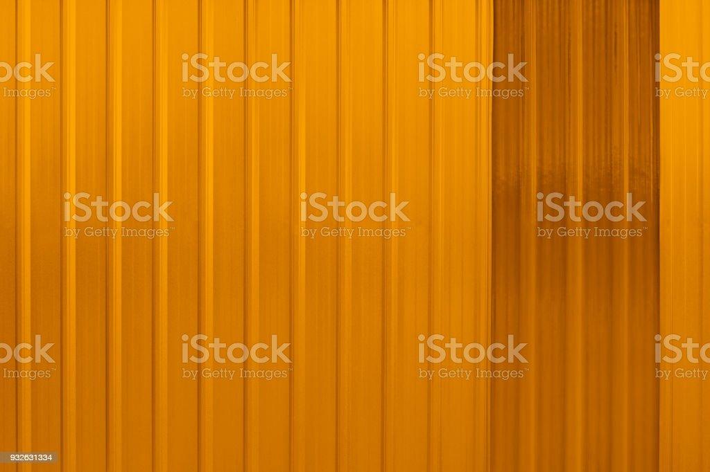Orange metallic background stock photo