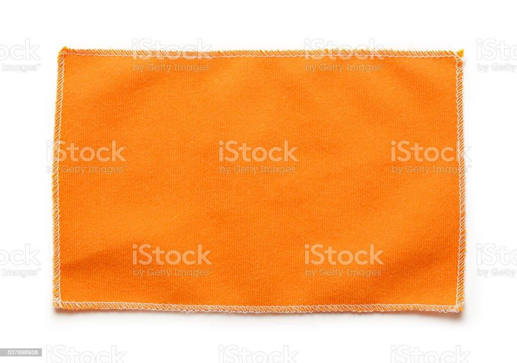 Orange microfiber cloth for glasses – Foto