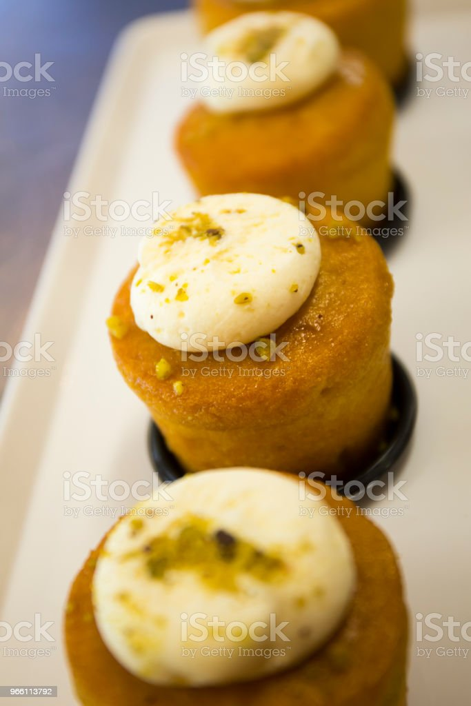 orange moroccan cake - Royalty-free Affectionate Stock Photo