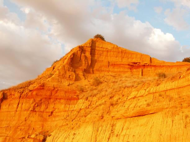 Orange mountain – Foto