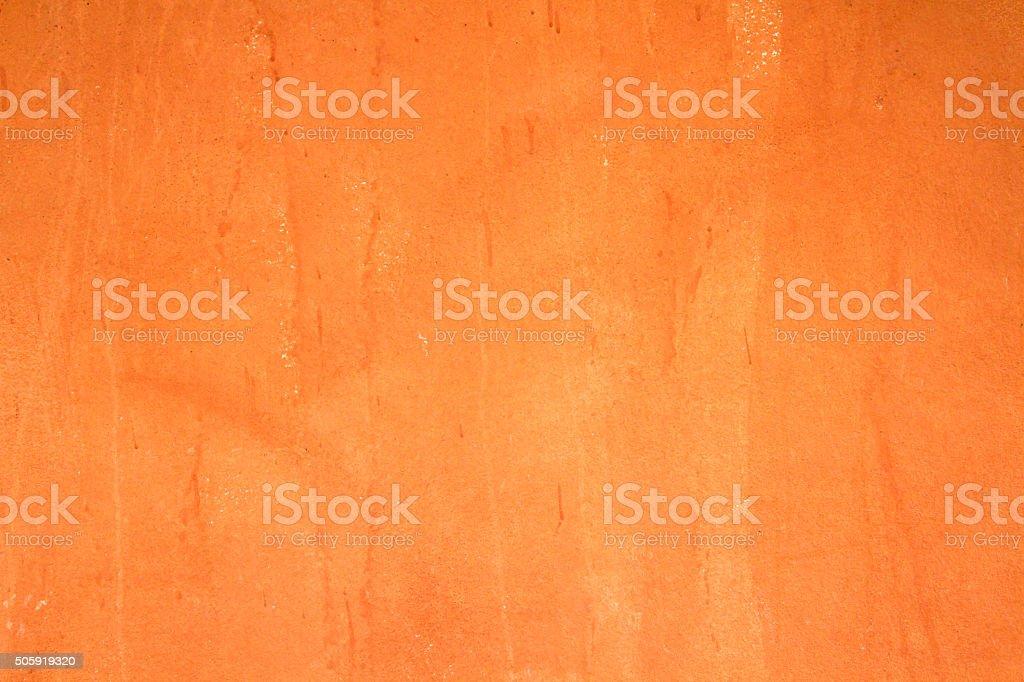 orange painting wall background stock photo