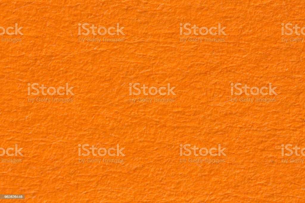 Orange paper background. Texture - Foto stock royalty-free di Arancione