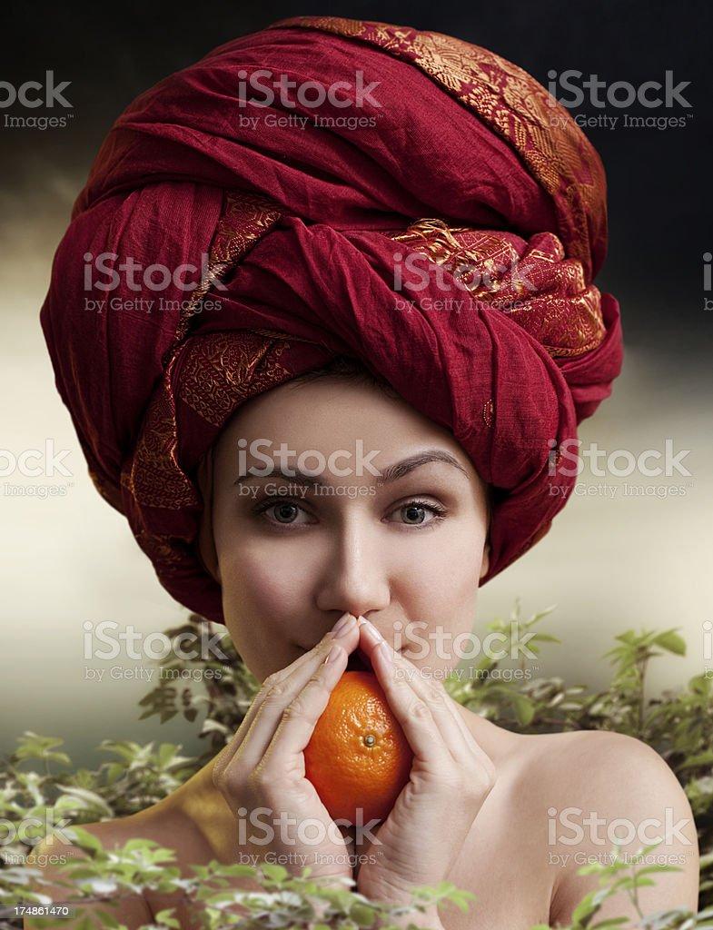 Orange Passion royalty-free stock photo
